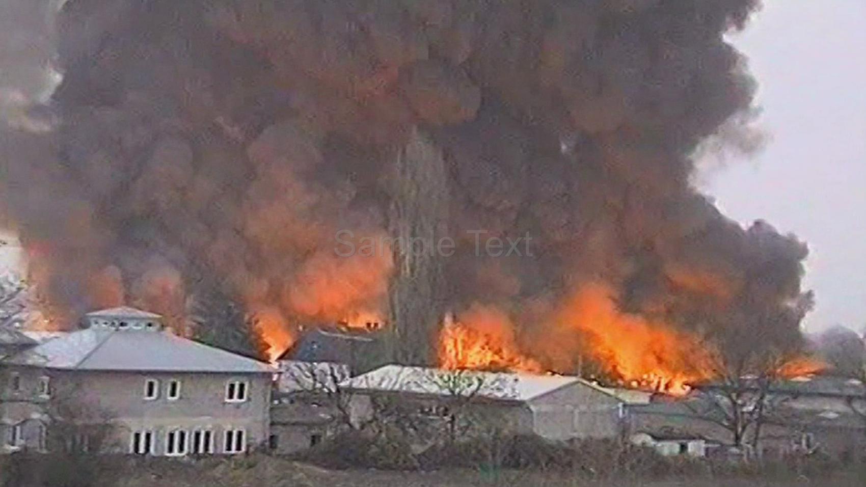 Erinnern Sie Sich ?  Großbrand Am 19.11.1998 Bei Der Firma Scobalit.