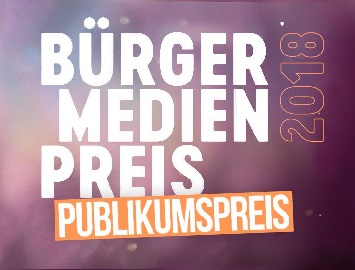 Online-Voting Beim Bürgermedienpreis